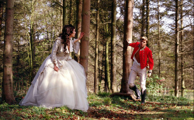 Best scottish weddings woods