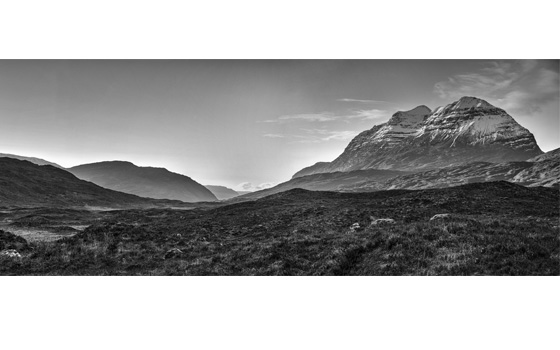 Liathach  - Last of the afternoon sunlight on Christmas day